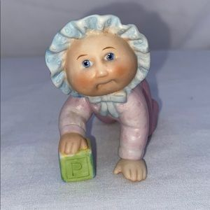 Cabbage Patch Accents - Vintage Cabbage Patch Toddler Figurines